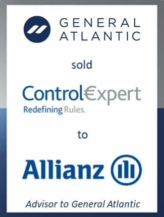 General Atlantic sale of ControlExpert to Allianz